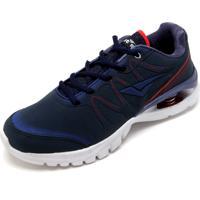 Tênis Bouts Cadarço Azul/Vermelho