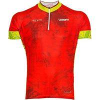 Camisa Ciclismo Woom Essence Alpes Masculina - Masculino