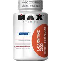 L-Carnitine 2000- 60 Cápsulas- Probioticaprobiotica