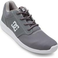 Tênis Dc Shoes Mid Adys Masculino - Masculino-Cinza+Branco