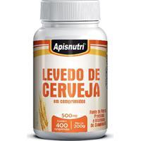 Levedo De Cerveja 400Cps 500Mg Apisnutri