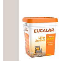 Tinta Acrílica 18 Litros Gelo - Eucalar - Eucatex