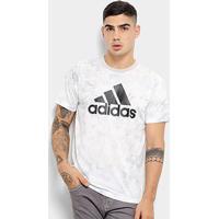Camiseta Adidas Id Sdye Masculina - Masculino-Branco