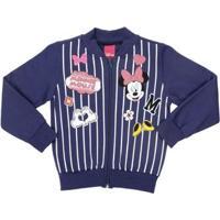 Jaqueta Disney Infantil Para Menina - Azul