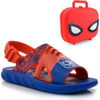 Papete Infantil Marvel Hero Com Maleta