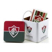 Caneca De Porcelana Na Lata 320Ml - Fluminense