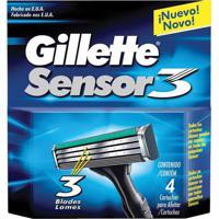 Carga Gillette Sensor 3 - 4 Unidades