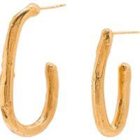 Alighieri Par De Brincos De Argola - Dourado