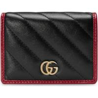 Gucci Porta-Cartões Gg Marmont - Preto