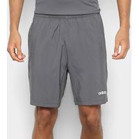 Bermuda Adidas D2M Climacool Masculina - Masculino-Cinza