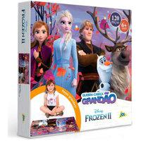 Quebra-Cabeça Frozen 2 Grandáo 120 Peças - Toyster