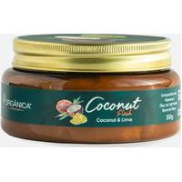 Creme Corporal Coconut & Lima Fresh Oil Cream Orgânica 300Gr