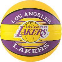 Bola De Basquete Spalding Nba Los Angeles Lakers Team Rubber Basketball Tam 7 - Unissex