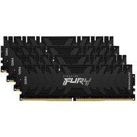 Memória Kingston Fury Renegade, 128Gb (4X32Gb), 3600Mhz, Ddr4, Cl18, Preto - Kf436C18Rbk4/128
