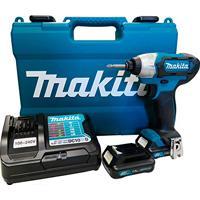 Parafusadeira De Impacto 1/4 Com 2 Baterias 12V Td110Dwye Makita