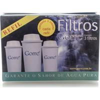 Kit Com 3 Filtros Para Jarra De Água Alcalina