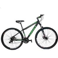 Bicicleta 29 First Smitt - Shimano Acera - Susp Trava- Freio A Disco Hidraulico 27 Marchas - Unissex