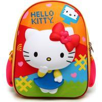 Mochila Max Toy Hello Kitty Laranja