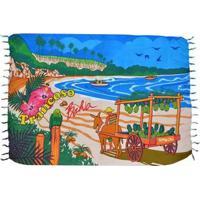 Canga Shopping Bali Bahia - Feminino-Azul Claro