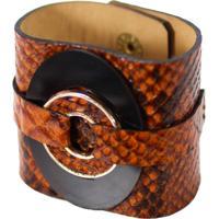 Bracelete Turpin Leona Caramelo