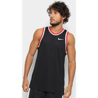 Camiseta Regata Nike Dry Classic Jersey Masculina - Masculino-Preto