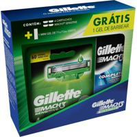 Kit Carga Gillette Mach3 Sensitive 1 Unidade