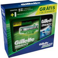 Kit Carga Para Aparelho De Barbear Gillette Mach3 Sensitive 1 Unidade
