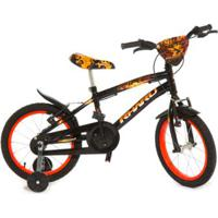 Bicicleta Infantil Aro 16 Rharu Tech Fire 2 - Masculino