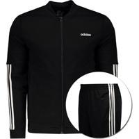 Agasalho Adidas Wts Backbas 3S Feminino Preto