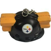 Chaveiro Foam Head Pittsburgh Steelers - Unissex