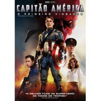 Capitão América O Primeiro Vingador Dvd Filme Ação