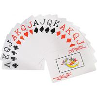 Conjunto Com 2 Jogo De Baralho Plastico 54 Cartas