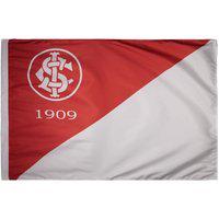 Bandeira Internacional Torcedor Branca E Vermelha