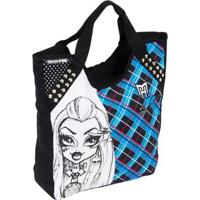 Bolsa Infantil Sestini Tote Monster High Feminina - Feminino-Preto