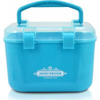 Caixa Organizadora (P) Jacki Design Organizadores Azul