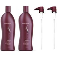Kit Shampoo E Condicionador Senscience True Hue 1000Ml E Válvulas Pump - Unissex-Incolor