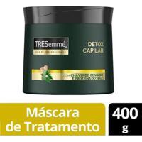 Máscara De Tratamento Tresemmé Detox Capilar 400G - Unissex-Incolor