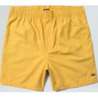 Short Sport Masc. Elastico Aqualight-Amarelo - P