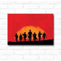Placa Decorativa Red Dead Redemption 2