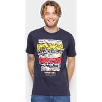 Camiseta Puma Rbr Street Tee Masculina - Masculino-Marinho