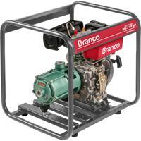 Motobomba A Diesel Branco Bd-712Br 5.0Cv Partida Manual