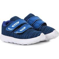 Tênis Infantil Kurz Têxtil Velcro Sport Masculino - Masculino-Azul Royal