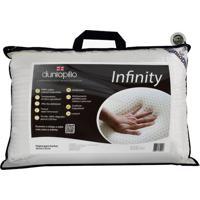 Travesseiro Dunlopillo Infinity Látex Natural 50X70 Cm