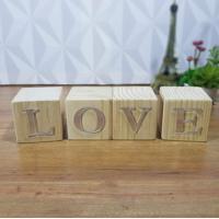 Cubo Decorativo Com Letras Em Acrílico Love