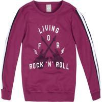 """Blusã£O """" Living For Rock 'N' Roll""""- Bordã´ & Brancohering"""