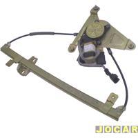 Máquina De Vidro - Tempra 1992 Até 1998 - Tipo 1993 Até 1997 - Elétrica - Com Motor - 4 Portas - Dianteira - Lado Do Passageiro - Cada (Unidade)