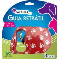 Guia Retrátil P/ Cães E Gatos 3 Metros Batiki