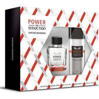 Antonio Banderas Power Of Seduction Kit - Eau De Toilette 100Ml + Desodorante 150Ml - Masculino