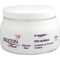 Máscara Lé Charmes Protein Pós Química 500G - Unissex-Incolor
