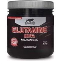Glutamine Micronized 300Gr - Leader Nutrition - Unissex